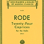 Caprices (24) . Violin . Rode Strmth