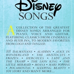 The Library of Disney Songs . Piano . Various