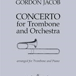 Concerto . Trombone and Piano . Jacob