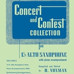 Concert and Contest Collection w/CD (solo book) . Alto Saxophone . Various
