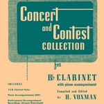 Concert and Contest Collection w/Online Media . Clarinet . Various