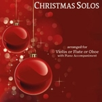 Twenty Intermediate Christmas Solos . Violin/Flute or Oboe and Piano . Various