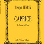 Caprice . Trumpet and Piano . Turrin