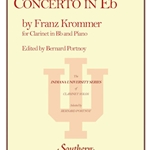 Concerto in Eb . Clarinet and Piano . Krommer