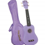 DU-118 Maple Sopano Ukulele w/Bag (Violet) . Diamond Head