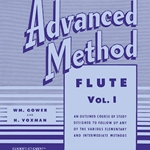 Rubank Advanced Method v.1 . Flute/Piccolo . Voxman/Gower