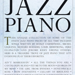 The Library of Jazz Piano . Piano . Various
