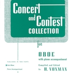Concert and Contest Collection (piano accompaniment) . Oboe . Various