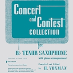 Concert and Contest Collection . Tenor Saxophone . Various