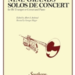 nine Grands Solos De Concert . Trumpet and Piano . Hue