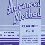 Rubank Advanced Method v.2 . Clarinet . Voxman/Gower