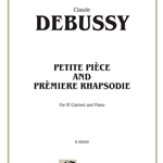 Petite Piece And Premiere Rhapsodie . Clarinet and Piano . Debussy
