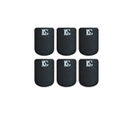 American Way Mk A10S Mouthpiece Cushions (black, small .8mm, 6 pack) . BG