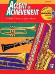 Accent On Achievement v.2 w/CD . Baritone Saxophone . O'Reilly/Williams