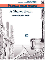 A Shaker Hymn (score only) . Concert Band . O'Reilly