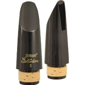 77113 Goldentone Clarinet Mouthpiece (no.3) . Selmer