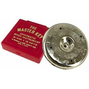 MK1S Master Key Chromatic Pitch Pipe (f-f) . Kratt