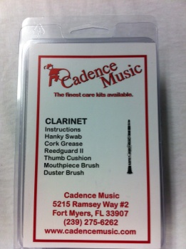 American Way Mk CCK1390 Cadence Plastic Clarinet Care Kit