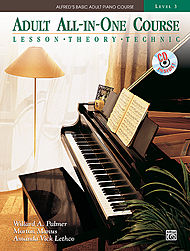 Adult All-In-One Course v.3 w/CD . Piano . Various
