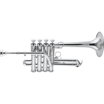 3916S Custom Series Bb/A Piccolo Trumpet Outfit . Getzen