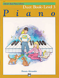 Alfred's Basic Piano Library Duet Book v.3 . Piano . Various