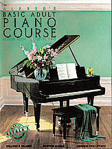 Alfred's Basic Adult Piano Course Lesson Book v.2 . Piano . Various