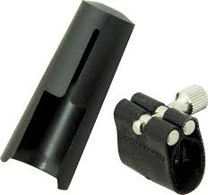 1MS Soprano Sax Leather Ligature (for metal mouthpiece) . Rovner