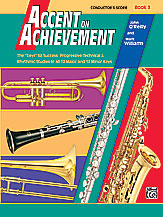 Accent On Achievement Conductor's Score Book 3