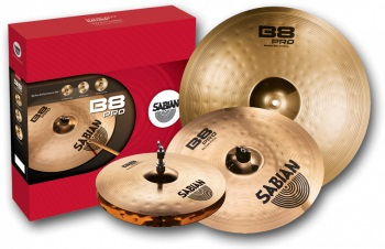 35003B B8 Pro Performance Cymbal Set . Sabian