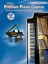 Alfred's Premier Piano Course Lesson v.5 w/CD . Piano . Various