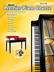 Alfred's Premier Piano Course Duet book v.1B . Piano . Various