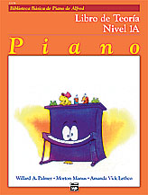 Alfred's Basic Piano Course Theory v.1A (spanish edition) . Piano . Various