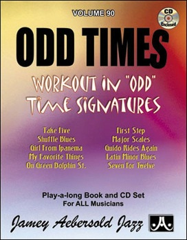 Aebersold Vol. 90  Odd Times  W/CD