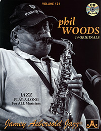 Aebersold Vol. 121 Phil Woods  W/CD
