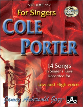 Aebersold Vol. 117 For Singers Cole Porter  W/CD