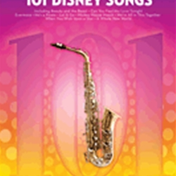 101 Disney Songs . Alto Saxophone . Various