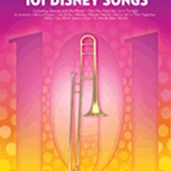 101 Disney Songs . Trombone . Various