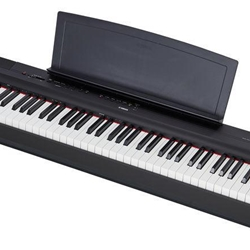 P125B Digital Piano w/power adaptor and pedal (88 weighted key) . Yamaha