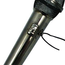 "39152 Microphone Ornament (4"") . Aim"