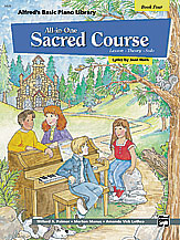 All-In-One Sacred Course v.4 . Piano . Various