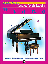 Alfred's Basic Piano Library Lesson Book v.4 . Piano . Various
