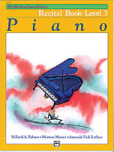 Alfred's Basic Piano Library Recital Book v.3 . Piano . Various