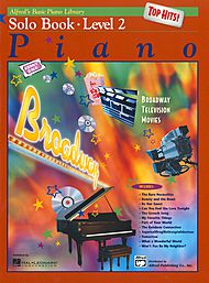Alfred's Basic Piano Library Solo Book Top Hits v.2 . Piano . Various