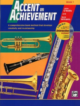 Accent On Achievement v.1 w/CD . Alto Saxophone . O'Reilly/Williams
