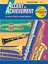 Accent On Achievement v.1 . Conductor's Score . O'Reilly/Williams