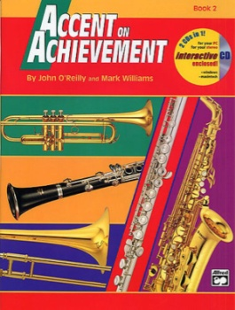 Accent On Achievement v.2 w/CD . Baritone (trebel clef) . O'Reilly/Williams